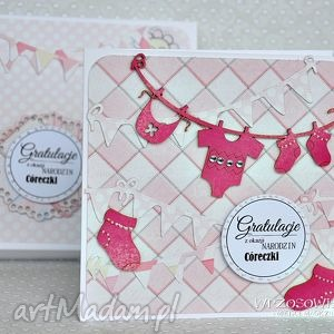 gratulacje - córeczka, narodziny, gratulacje, kartka, córeczka, prezent