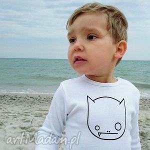 Prezent Body dziecięce i niemowlęce z krótkim rękawem - WILK, body, dziecko, niemowlę