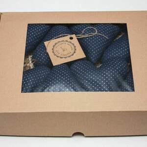 święta prezenty Zawieszki na choinkę bombki serca serduszka w pudełku prezent