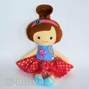 pomysły na upominki świąteczne Lala Umilka - Bogna 45 cm, lalka, małpka, baletnica