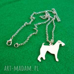 frrodesign naszyjnik airedale terrier pies nr 78, naszyjnik, pies, rasy-psów