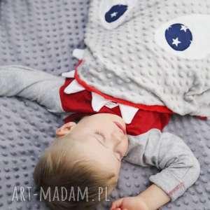 Śpiwór rekin - bawełna, minky