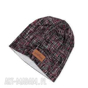 Prezent Kolorowa czapka beanie ciepła Unisex,