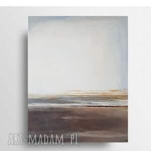 plaża-obraz akrylowy 80/100 cm, obraz, plaża, pejzaż, akryl