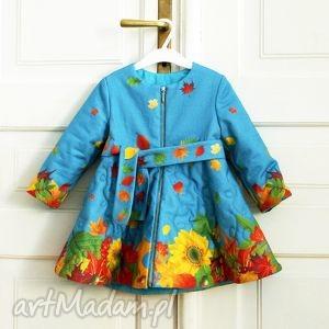 ubranka płaszczyk złota jesień - płaszcz
