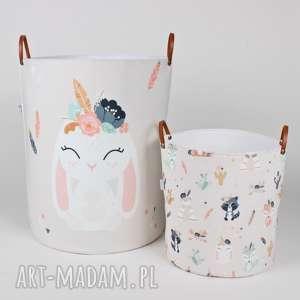 Prezent Komplet pojemników z króliczkiem, pojemnik, prezent, dladziecka, babyshower