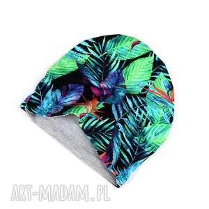 Czapka Palmy dwustronna dla dziecka, dziecko, czapka, ciepła, dwustronna, palma