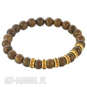 lavoga zircons & stones - brown jade - cyrkonie