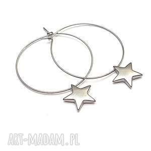 Alloys Collection /star/vol. 2 - kolczyki, stal, szlachetna, koła, gwiazdki