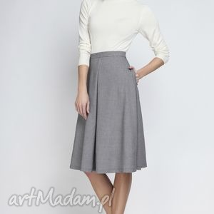 Spódnica SP110 pepito, elegancka, rozkloszowana, kontrafałda, kobieca, matura