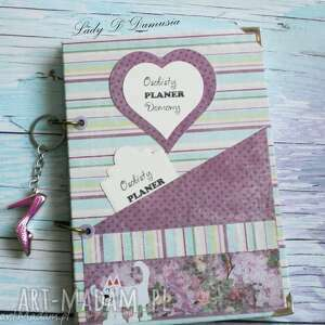 notes/ osobisty planer domowy, notes, planer, zapiski, prezent scrapbooking