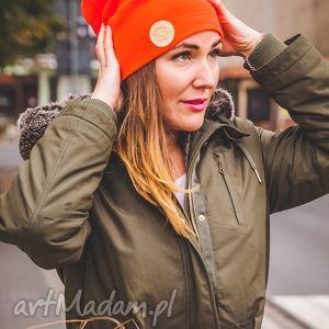mechaniczna pomarańcza mózg - jesień, zima, czapka, beanie