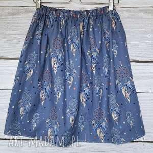 ręcznie zrobione spódnice spódniczka w łapacze snów