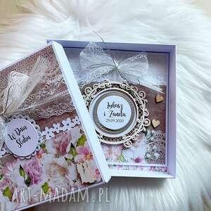 kartka na ślub - w pudełku po godzinach, prezent