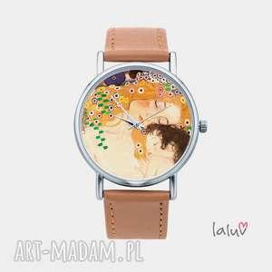 Zegarek z grafiką klimt matka dzieckiem zegarki laluv