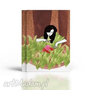 handmade kartki kwiat paproci... kartka urodzinowa
