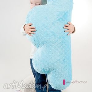 ręcznie robione pokoik dziecka poducha chmurka - minky 70 cm