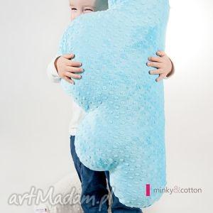 poducha chmurka - minky 70 cm - poduszka, pluszak, zabawka, prezert