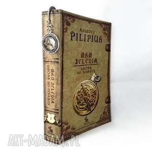 zakładka do książki steampunkowy smok egginegg - beżowe