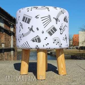 Pufa Nutki - 36 cm, puf, pufa, stołek, taboret, siedzisko, hocker