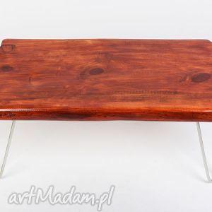 stoły stolik maono - industrialny, niepowtarzalny, unikat, drewno i stal