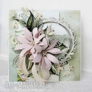 marbella kartka z kwiatami - w pudełku, urodziny, gratulacje, imieniny