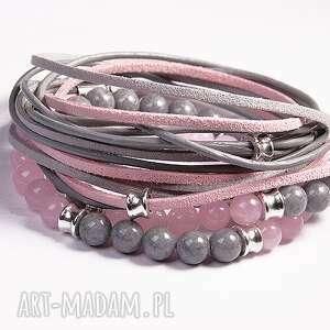 handmade pink&grey