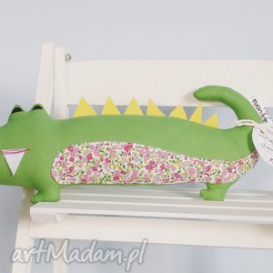 krokodyl eliot, krokodyl, zabawka, miś, przytulanka
