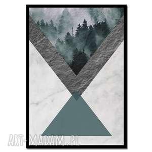 obraz w ramie awangarda 1r - 73x52cm drukowany na płótnie minimalizm rama