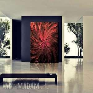 dekoracje duży obraz nowoczesny - namiętny wir, obraz