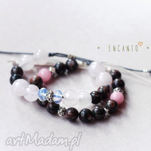 Ethereal and earthy encanto naturalne, kwarc, opal, jaspis