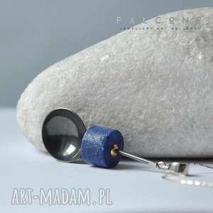 Lapis Lazuli, naszyjnik, wisior, zawieszka, oryginalny, srebro, lapis-lazuli
