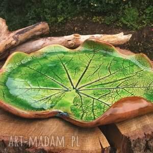 ręczne wykonanie ceramika ceramiczna patera (c333)
