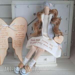 anioł pamiątka chrztu świętego, anioł, lalka, pamiątka, chrztu, świętego