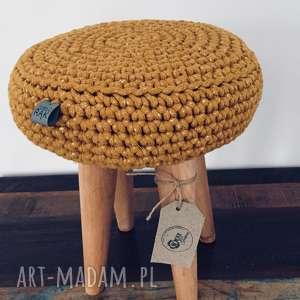 ręczne wykonanie pokoik dziecka stołek grzybek