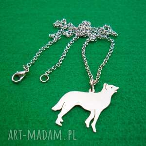 naszyjniki naszyjnik owczarek belgijski malinois pies nr 74, naszyjnik
