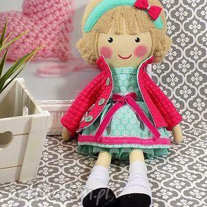 ręcznie zrobione lalki malowana lala lukrecja