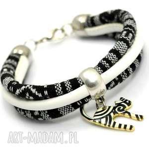 bransoletka boho CAT MASAYAL, bransoletka, boho, etniczna, zawieszka, kot