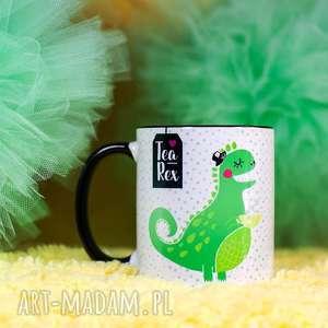 Prezent Kubek Tea-Rex, kubek, prezent, personalizacja, herbatka, dinozaur, ceramika