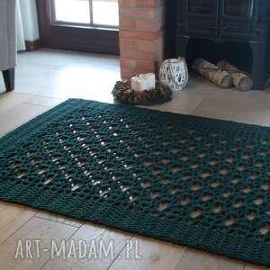 dywan simon, ze sznurka, z bawełny, prostokąt, ażur