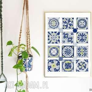 mozaika 30x40cm, mozaika, plakat, sztuka, grafika, obraz