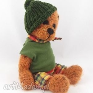 Rudi zabawki wernika miś, szydełkowy, włóczkowy, maskotka