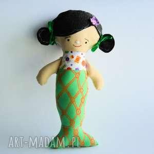 motylarnia lalka - diana syrenka 30 cm, syrenka, morze, szmacianka, roczek