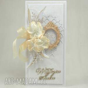 handmade scrapbooking kartki kartka ślubna