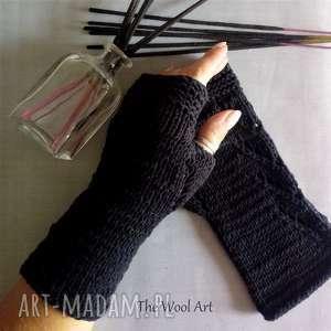 Prezent rękawiczki mitenki, rękawiczki, bawełniane, prezent, na-ręce