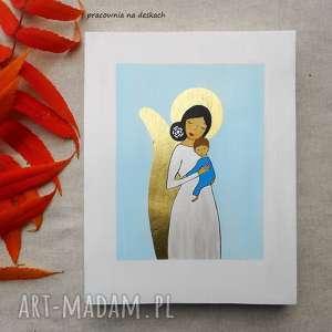 Obrazek na chrzest święty - chłopiec 2 pokoik dziecka pracownia