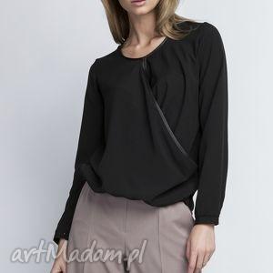 oryginalny prezent, lanti urban fashion bluzka, blu125 czarny, czarna, casual