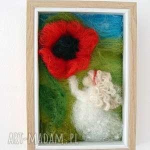 w zaczarowanym ogrodzie obraz z kolekcji die verzauberte - dziewczynka