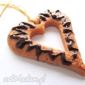 pomysł na świąteczne prezenty OZDOBA CHOINKOWA ciasteczko serduszko, ozdoby, ozdoba