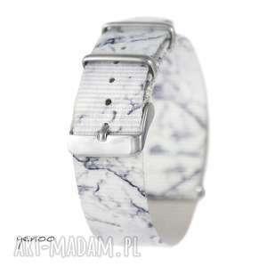 Prezent Pasek do zegarka - nato, nylonowy, marmurkowy, zegarek,